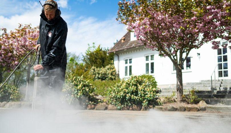 Haveservice og fliserens på Sjælland